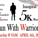 Serve Our Wounded Warriors Inaugural 5k Race April 6th